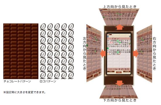 chocolate cell phone 03