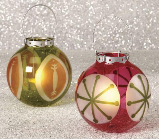 christmas ornament luminaries BC9S9 58