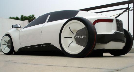 citroen eco luxury sedan 01