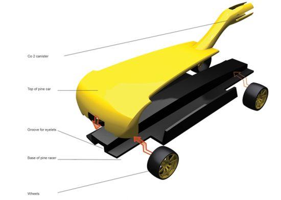 co2 pine car racer 02