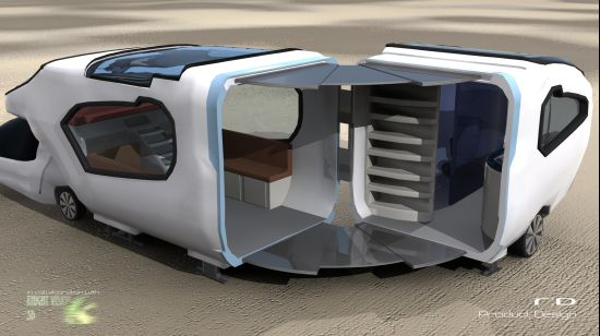 Forfreedom caravan designed for the most comfortable ...