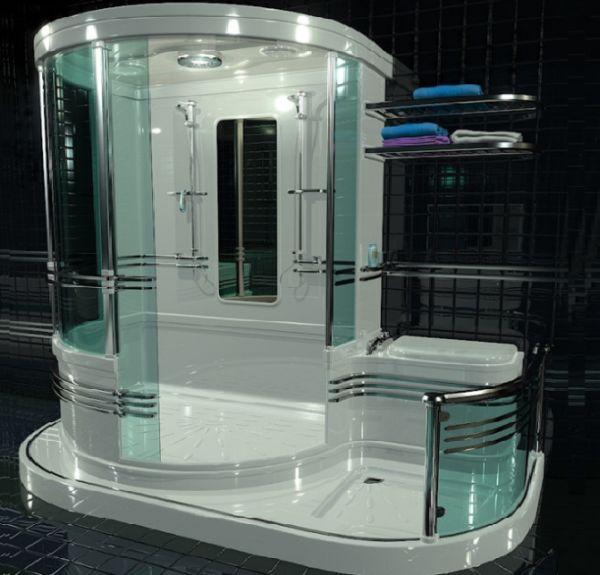 A user friendly bathroom concept by simon r pestridge designbuzz - Heating small spaces concept ...