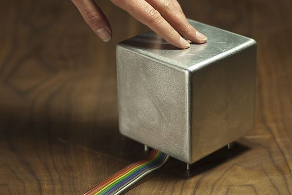 Cryoscope concept to touch and feel the weather forecast