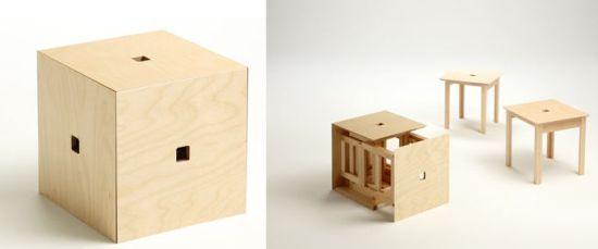 cube stools GAUQp 5965