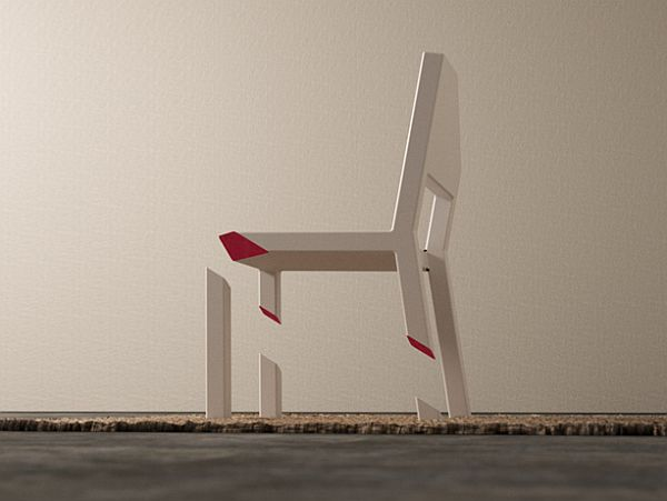 cut chair
