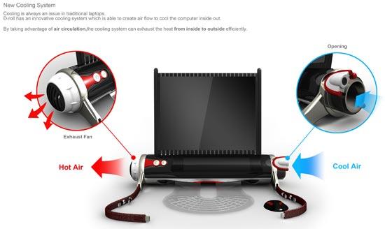d roll laptop concept 4