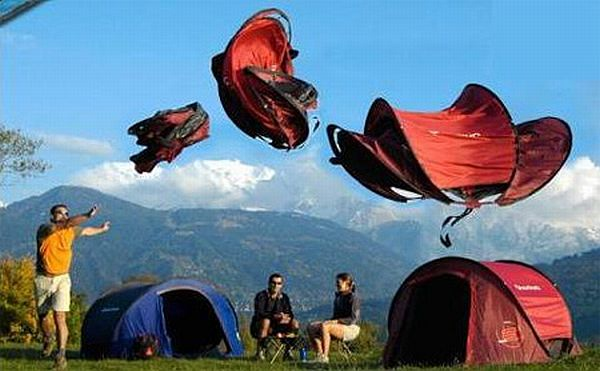 Decathlon tent