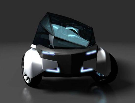 diamond car concept P855O 1333