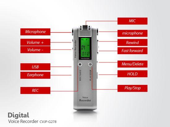digital voice telephone recorder 4