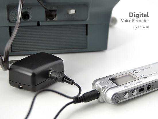 digital voice telephone recorder 8