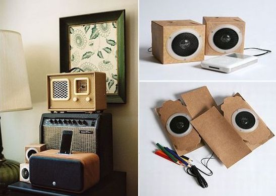 DIY Eco Speakers let music rock from all kind of players ...