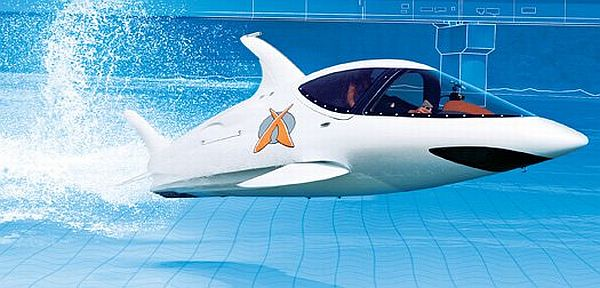 Dolphin-Like Speedboat