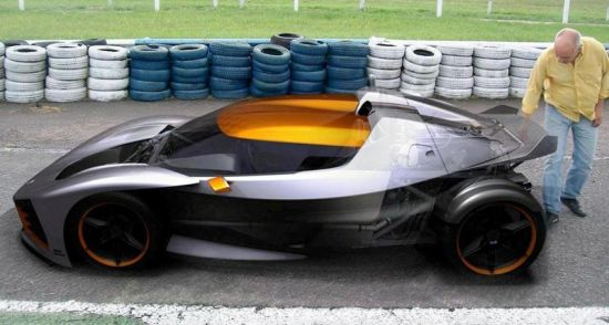 donto p1 sports car side 1
