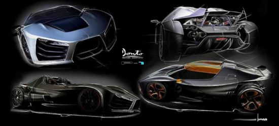 donto p1 sports car side 3