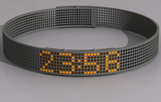 dot wrist based watch 01