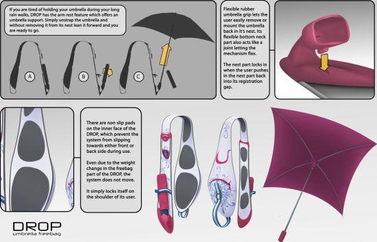 drop umbrella freebag 02