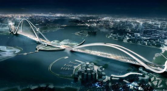 dubai creating new bridge