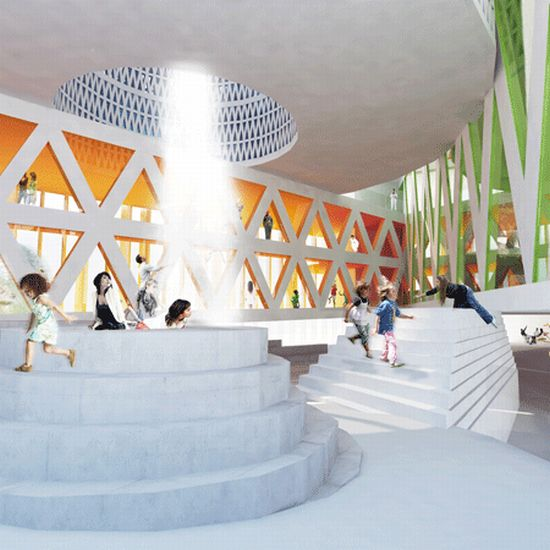 dzn house of culture and movement by mvrdv and ade