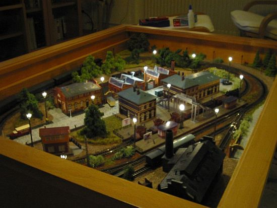 IKEA Coffee Table With Miniature Train Set Inside Designbuzz