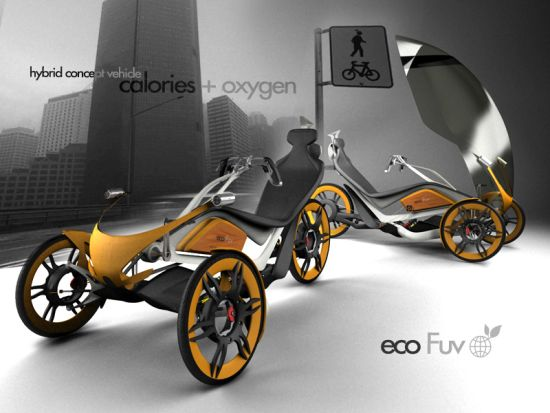 ecofuv urban bicycle concept 1