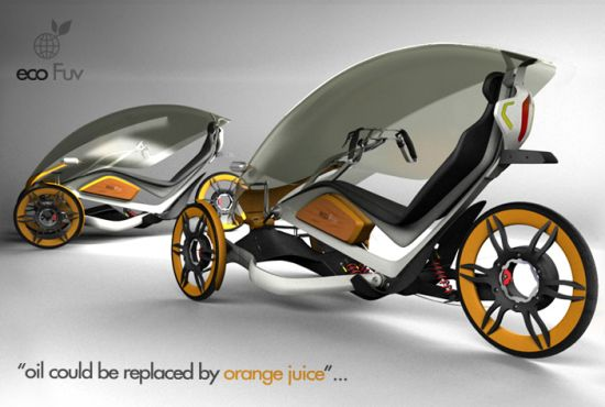 ecofuv urban bicycle concept 2