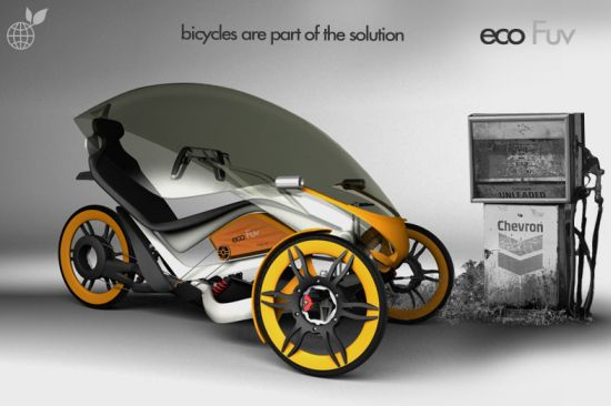 ecofuv urban bicycle concept 3