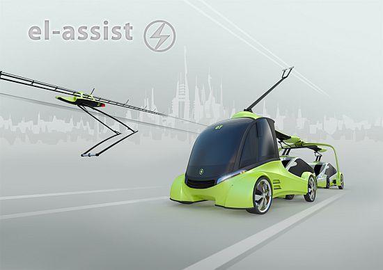el assist recharging concept for ev 1