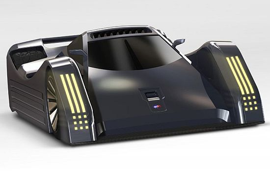 electric racing car design up96V 58