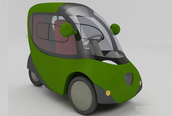 electric three wheel vehicle 01