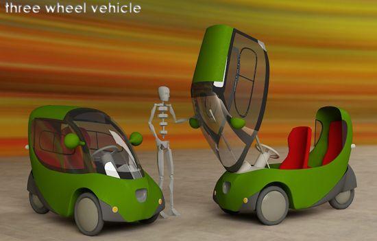 electric three wheel vehicle 03