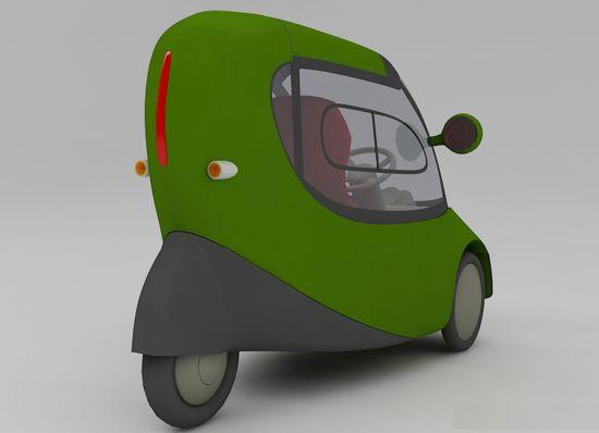 electric three wheel vehicle 04