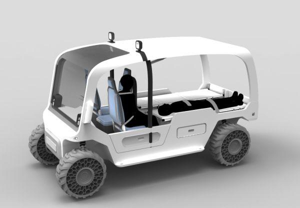Elliot - disaster rescue vehicle