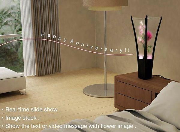 flora digital flower vase 01