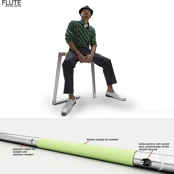 FLUTE - sit stand