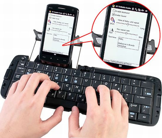 foldable bluetooth keyboard ovakI 58