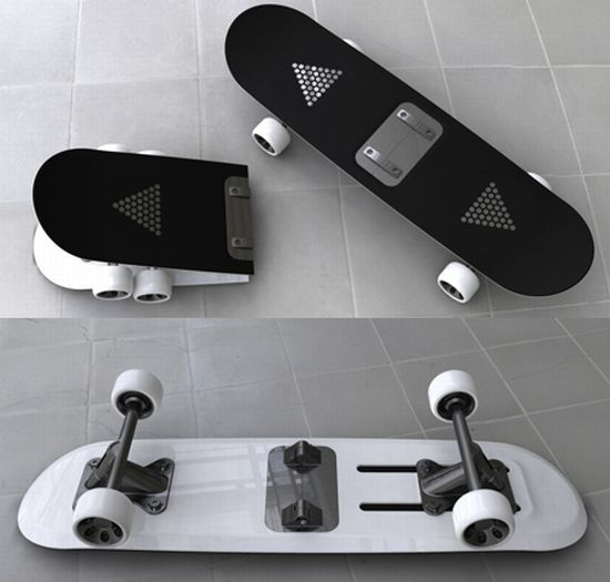 foldable skateboard 5fitd 58