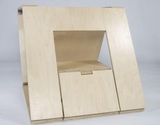 folding chair 10