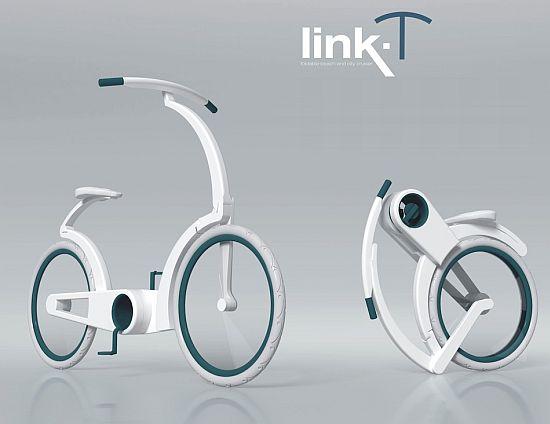folding cruise bike link t  01