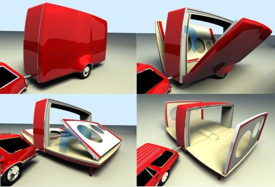 foldoub foldable caravan