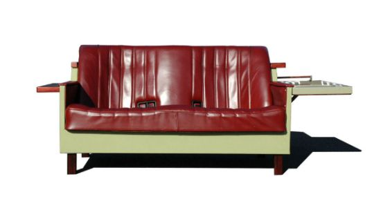Recycled 'Fridge Couch' infuses your living room with a
