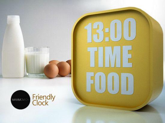 friendly clock 01