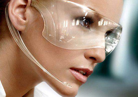 futuristic info goggles AQUOt 1333