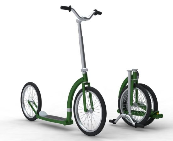 shopping guides folding scooter adult