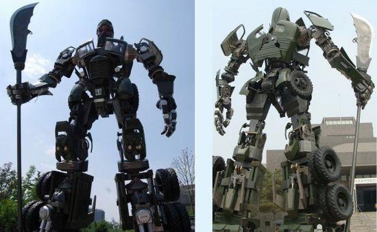 giant transformer truck 01