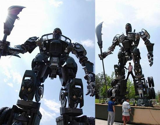 giant transformer truck 02