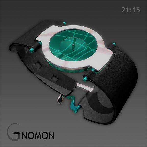 gnomon sundial watch 02