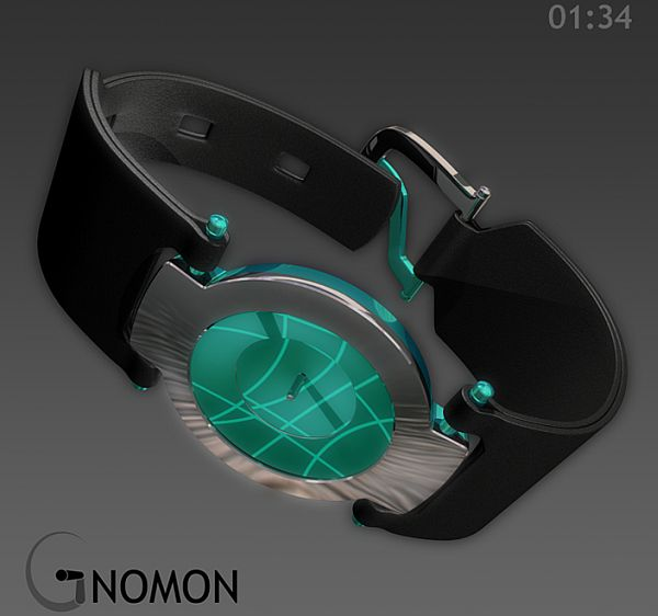 gnomon sundial watch 04