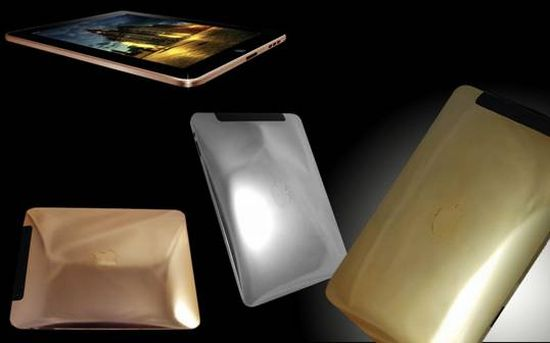 gold plated apple ipad