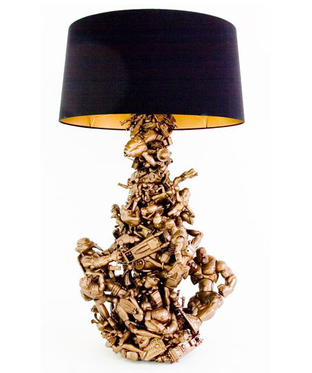 gold toy lamp