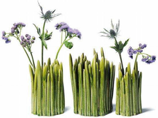 grass vase by normann copenhagen